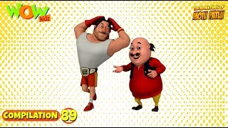Motu Patlu - Non stop 3 episodes | 3D Animation for kids - #89
