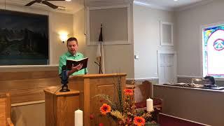 Bro Keith Box: A Crisis of Faith  John 16:33 9/27/20