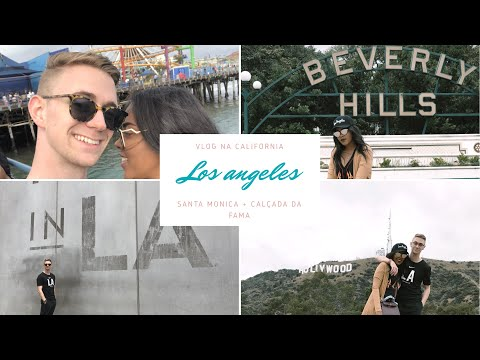 Vlog em Los Angeles + Santa Monica