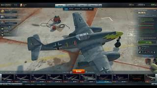 Video World Of Warplanes. Me 109 TL.  Review And Gameplay. download MP3, 3GP, MP4, WEBM, AVI, FLV Desember 2017