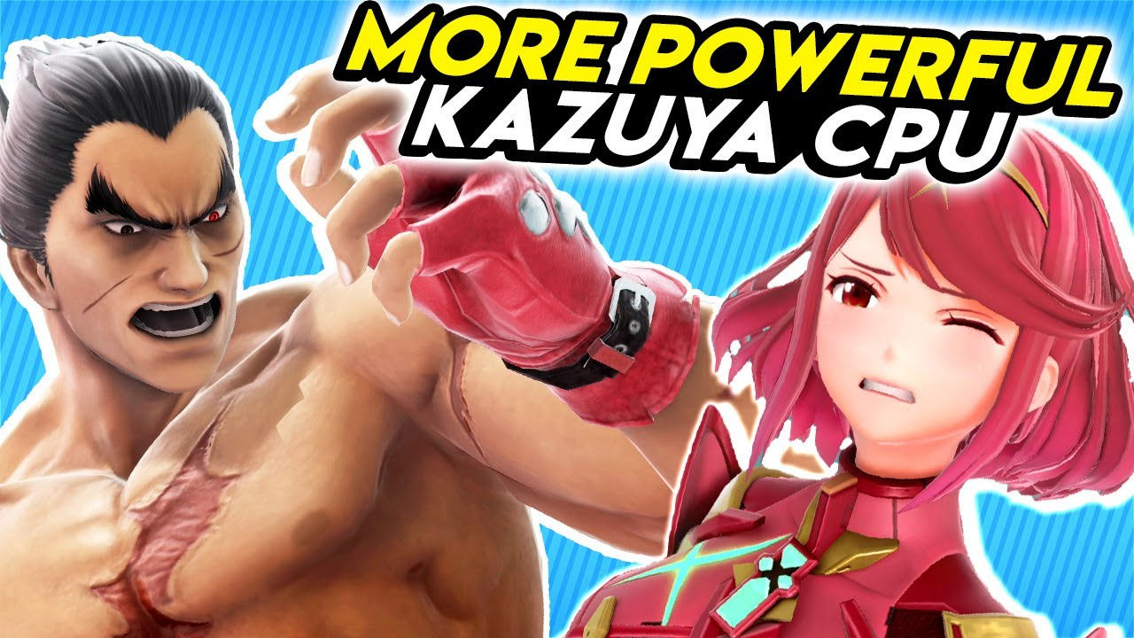 What if the Kazuya CPU was Totally Broken? (SSBU)