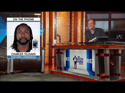 Panthers CB Charles Tillman Discusses Teams 8-0 Start & More - 11/10/15