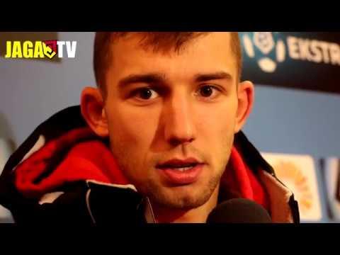 Łukasz Sekulski po meczu z Koroną Kielce (12.12.2017)
