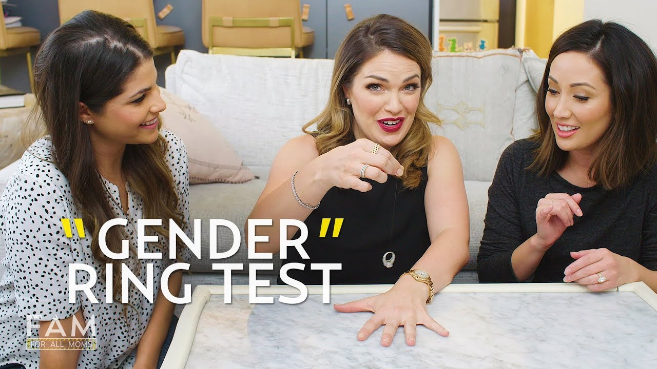 we tried the gender ring test and the results were crazy!