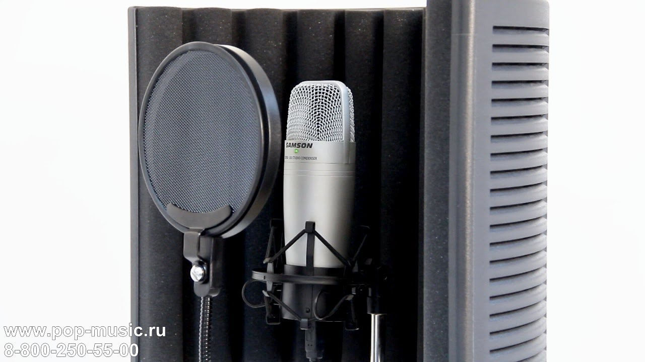 Микрофон SAMSON C01U PRO - YouTube