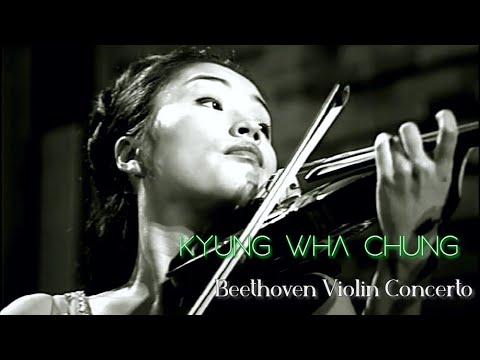 Kyung Wha Chung plays Beethoven violin concerto (1972)