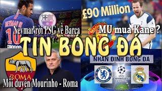 Tin bóng đá - Tin thể thao - 05/5/2021:MU chi đậm mua Kane ?,Neymar rời PSG về Barca,Chelsea vs Real