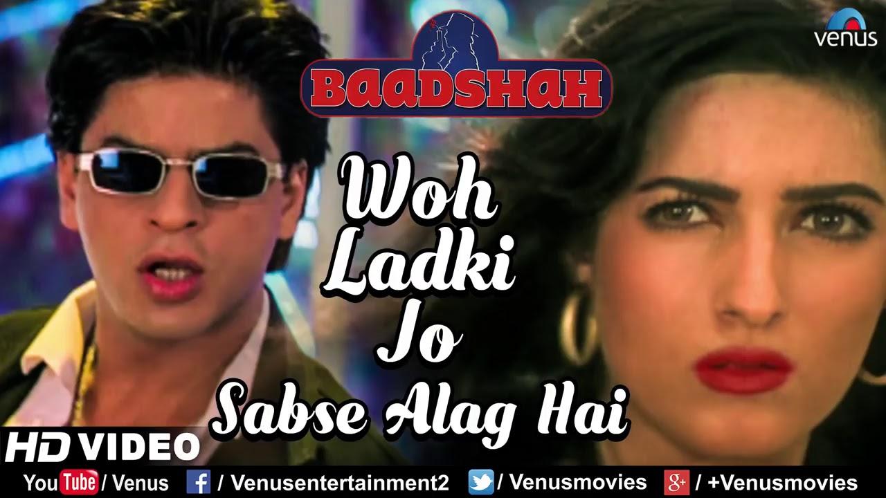Woh Ladki jo sabse alag hai Badshah movies MP3 song