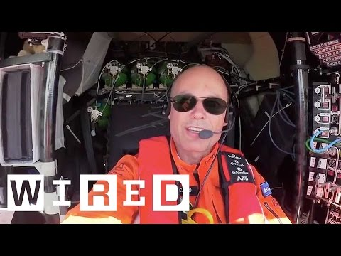 Solar Impulse 2: An Exclusive Insight into Life Onboard | WIRED