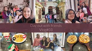 Vlog #03 || Day out with friends || Cafe Coffee O Kobita || Scottish Church College || Sheril Mary