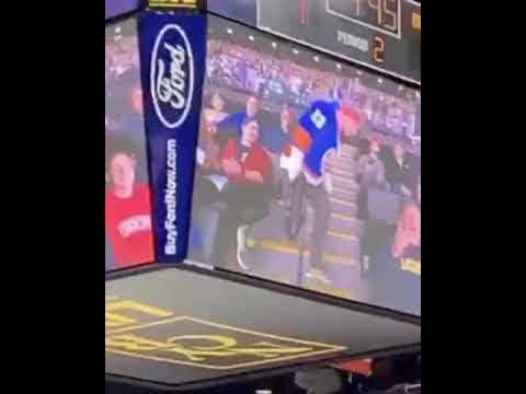 Fisher - Watch:  Hockey Fan Fakes Proposal On The Kiss Cam