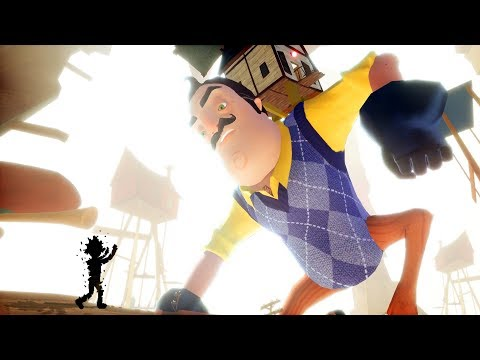 SHADOW BOY LIVES AND GIANT NEIGHBOR BOSS BATTLE - Hello Neighbor BETA 3