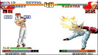 [TAS] The King Of Fighters 97 - Orochi BOSS Gameplay Arcade