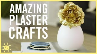DIY | 3 Amazing Plaster Crafts