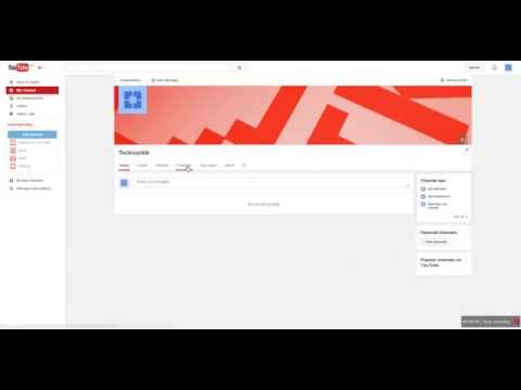 How to Add & Remove featured channels on Youtube