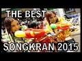 Songkran Thailand & Pattaya festival (Thailand new year) Wet Girls everywhere !