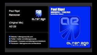 Скачать Paul Rigel Hannover Alter Ego Records