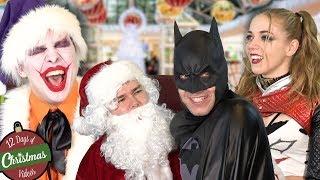 Christmas BATMAN, JOKER, IRON MAN - Superheroes me...