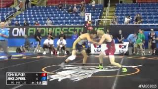 120 Champ. Round 2 - Angelo Pool (arizona) Vs. John Burger (new Jersey)