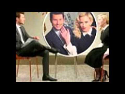 Jason Dundas interviews Madonna for Entertainment Tonight