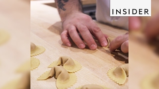 NYC's Eataly has fresh pasta that sells out e...