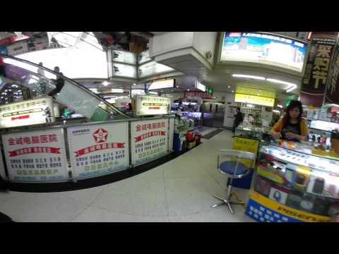 Walking through Shenzhen Electronics Market