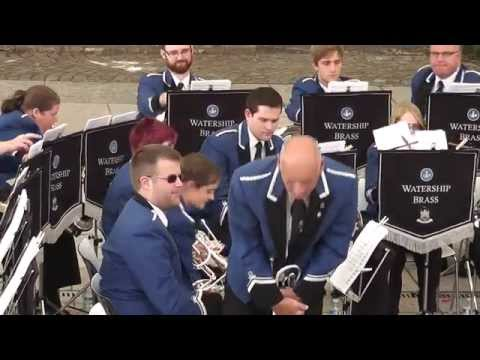 Watership Brass perform Shepherd's Song arr. by Goff Richards