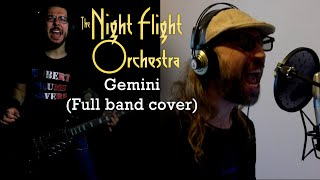 The Night Flight Orchestra - Gemini (full band cover)