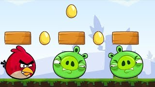 Angry Birds Go Crazy Platform Funny Skill Game Bird vs Piggies