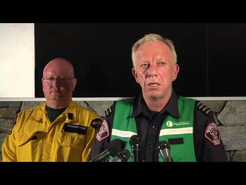 Media Briefing: Wood Buffalo Forest Fire Update - May 3, 11 a.m.