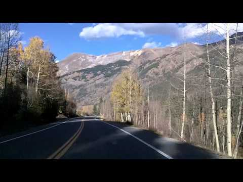 Million Dollar Highway: Silverton to Ouray, Colorado US 550 Dashcam
