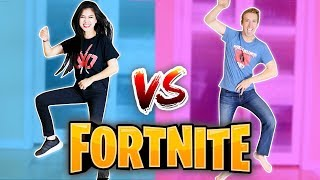 FORTNITE DANCE CHALLENGE in REAL LIFE (All Season 4 Dances) vs Chad Wild Clay