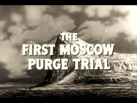 The First Moscow Purge Trial (1936-38) - Trial of Sixteen Historical Reenactment