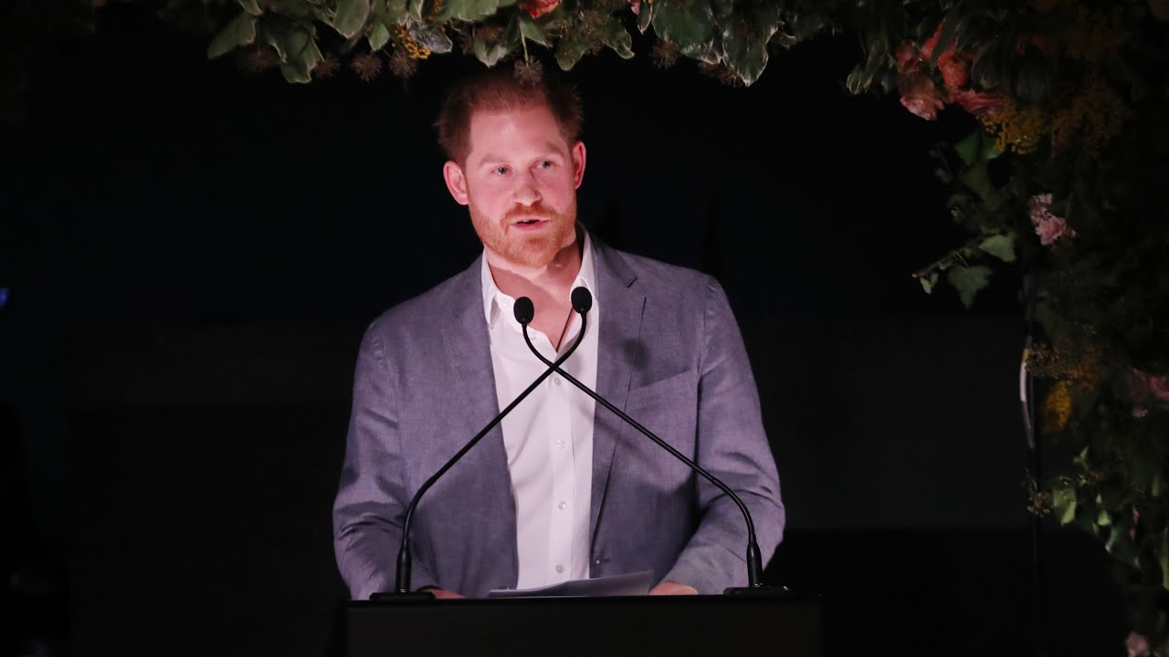 Prince Harry's exit speech: 'There was no other option'