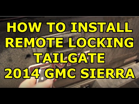 [HOW TO] Install Pop & Lock Power Tailgate Lock- 2014 GM Trucks - PL8140