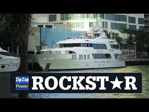 ROCKST★R in Miami | The Yacht that the Bridge Smashed