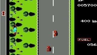 Road Fighter NES