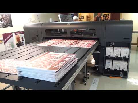 Production Printing Room @ SiGN DESiGNS