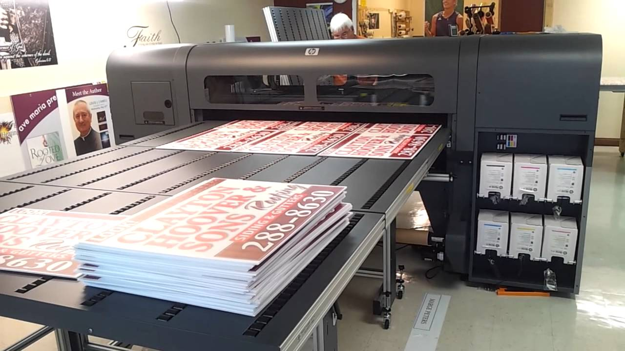 Production Printing Room Sign Designs Youtube