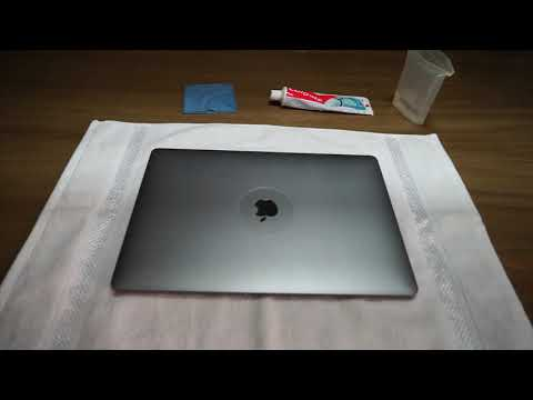 How to Remove Scratches from a MacBook Pro - Does ToothPaste Work?????