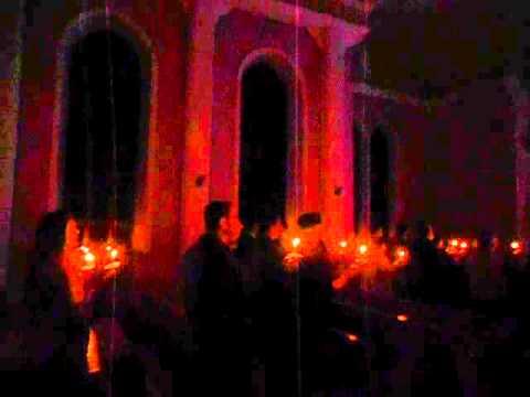 29 ARALIK 2012 CUMARTESİ GEDİKPAŞA İNCİL KİLİSESİ NOEL KUTLAMASI  İLAHİ  SAKİN GECE