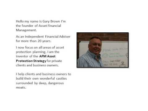 AFM asset protection strategy Warrington Cheshire protect your savings investments and pensions