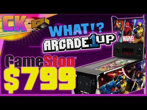 Arcade1Up Marvel Pinball at GameStop for $799 now? WHAT IS HAPPENING?! from Console Kits