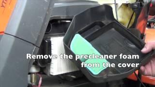 Kohler Airfilter Change