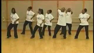 BIG THANGZ Line Dance full length sample : www.LineDanceDVD.com : DJ Cochise