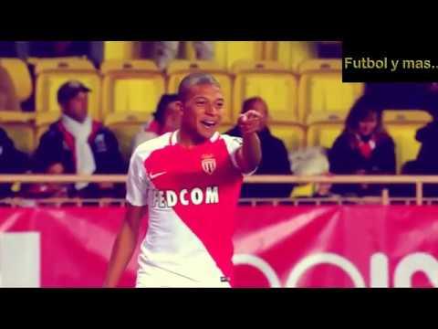 Kylian Mbappe.Sus mejores jugadas en el AS Monaco.
