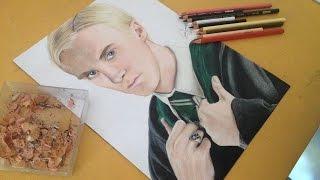 Drawing Draco Malfoy (Tom Felton)