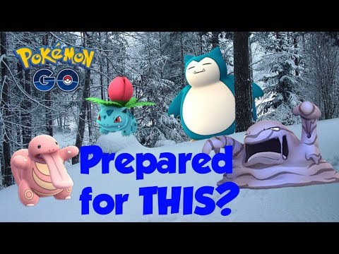 Pokemon Go: How to Play in the Winter Time