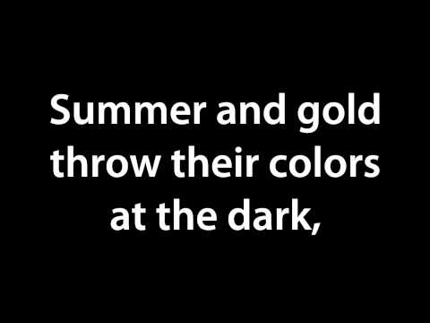 Pierce The Veil  The New National Anthem lyrics