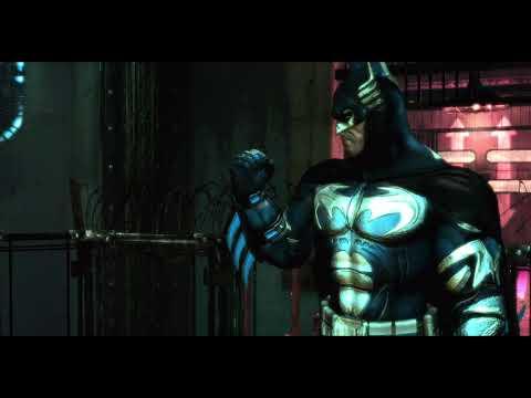 "Batman: Arkham Asylum - ""Batman & Robin"" Skin Shock & Awe Gameplay |"